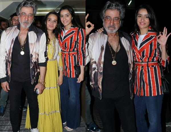 shraddha shakti attend special screening of bombairiya