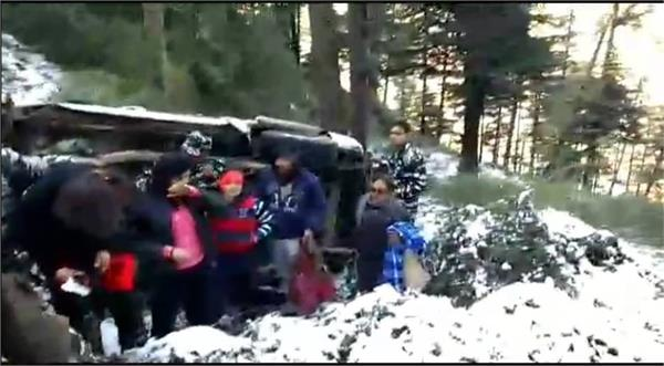 accident in patnitop 9 injured