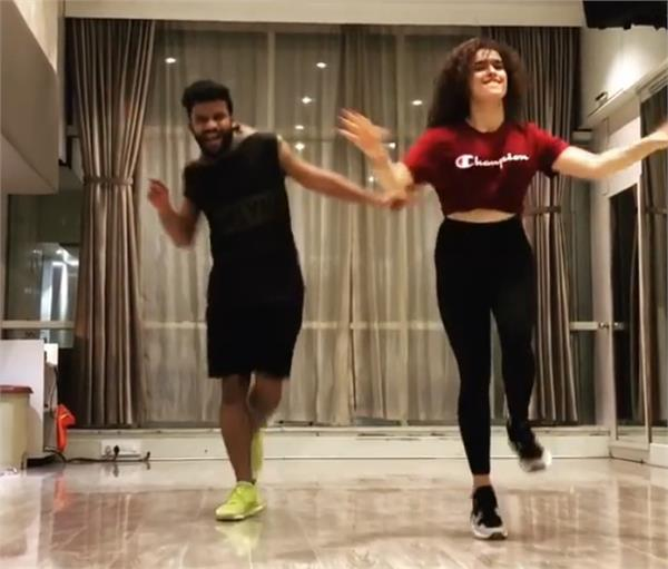 sanya malhotra dance video viral
