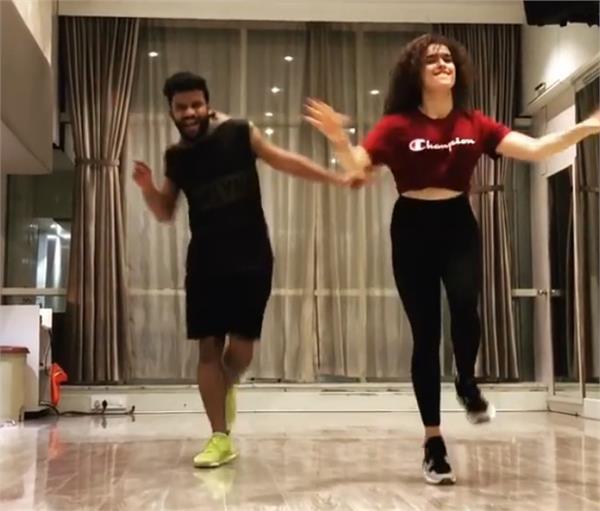 sanya malhotra dance video viral