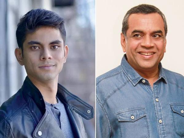 paresh rawal son aditya rawal bollywood debut