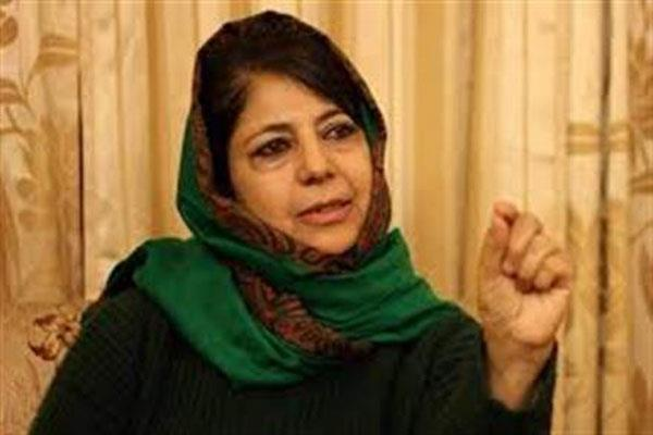 mehbooab demand release of separatist leader