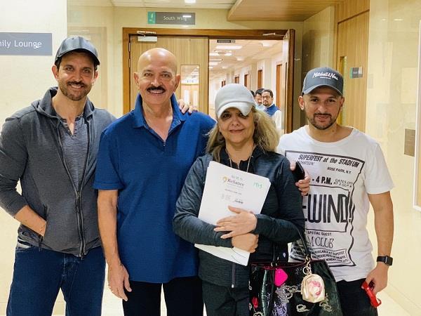 rakesh roshan discharge from hospital