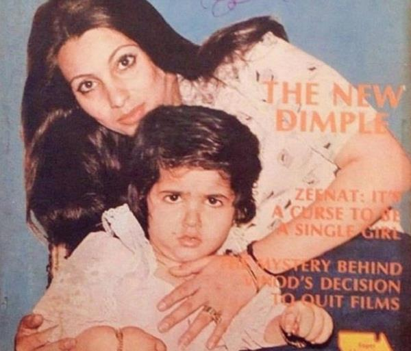 twinkle khanna shares old picture