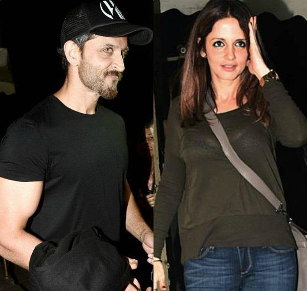 hrithik movie outing with ex wife sons