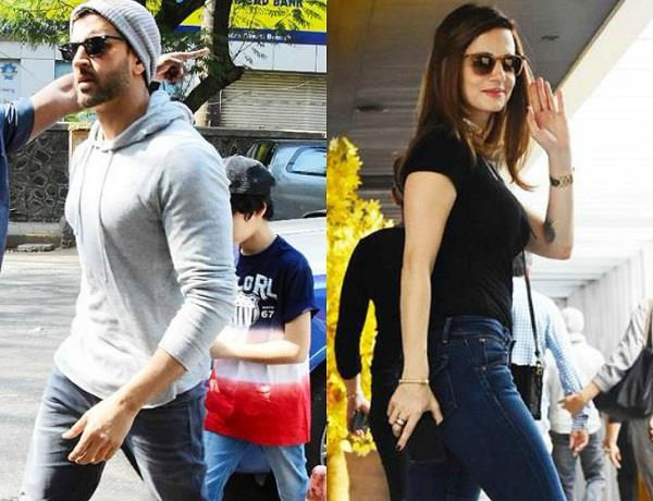hrithik roshan lunch date with sussanne sons