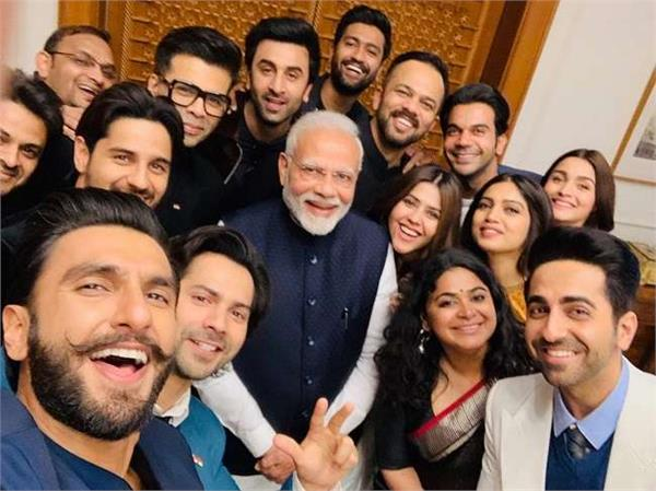 bollywood celbs meet with pm modi