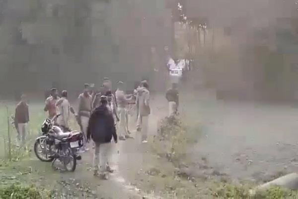 araria controversy const temple govt land violent clash police villagers