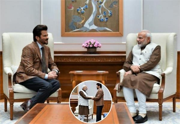 bollywood actor anil kapoor met pm narendra modi share photo on insta