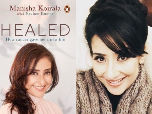 manisha koirala share her pain of cancer pain in this book
