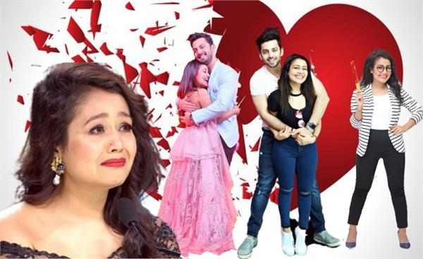 neha kakkar and himansh kohli breakup love story