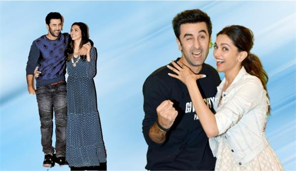 ranbir kapoor and deepika padukone both make this film