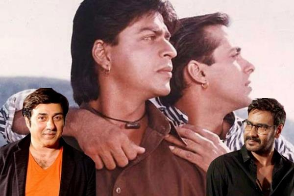 karan arjun movie sunny and ajay
