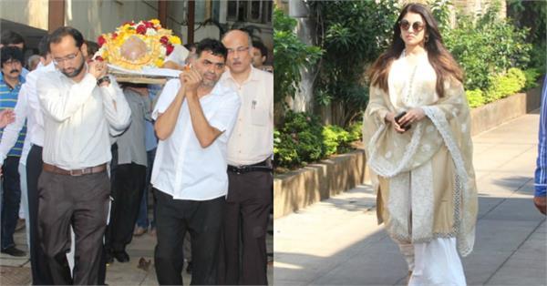 rajkumar barjatya funeral photos