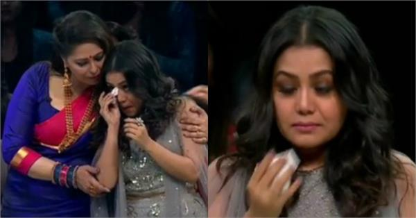 neha kakkar break down on the set of super dancer chapter 3