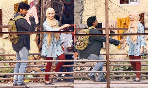 ranveer alia shoot for 25 days at real slums in mumbai