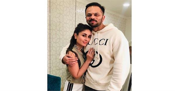 rohit shetty share a picture with kareena