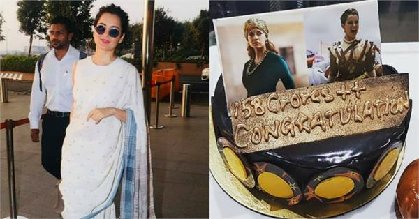 kangana ranaut celebrate success of manikarnika