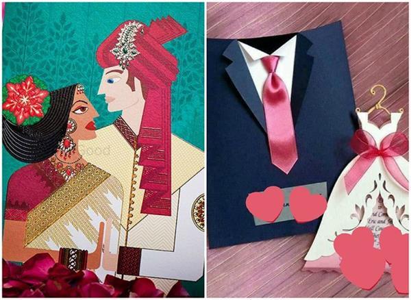 creative wedding invitation card design ideas