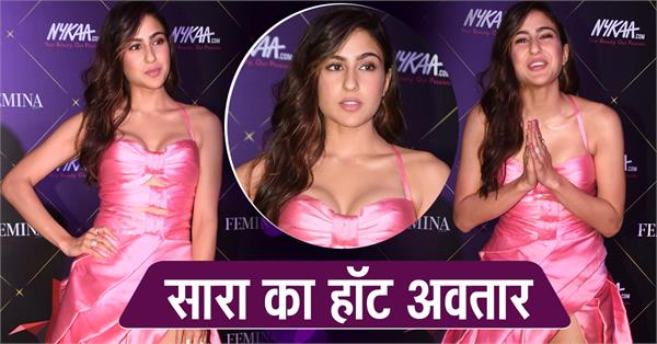 sara ali khan at femina beauty awards 2019