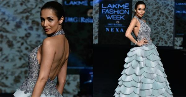 malaika arora at lakme fashion week 2019