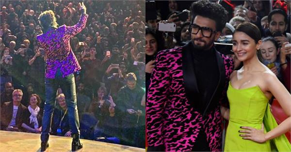 ranveer singh live performance at berlinale 2019