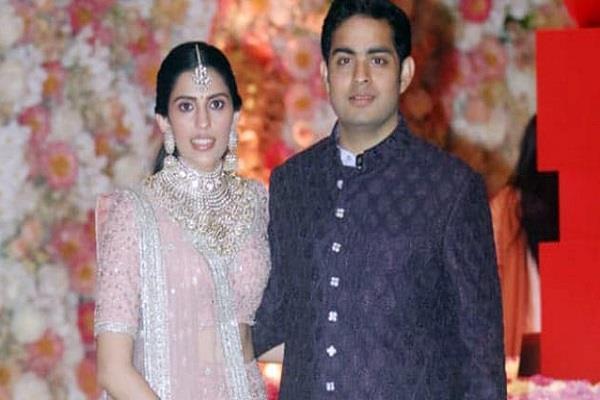 akash ambani wedding card get viral