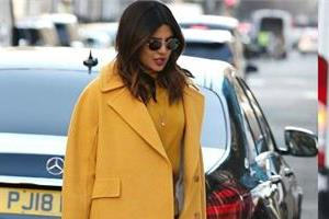 priyanka chopra spotted at london