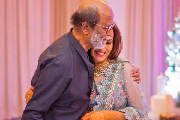 rajinikanth daughter soundarya rajnikanth marriage photos and news in hindi