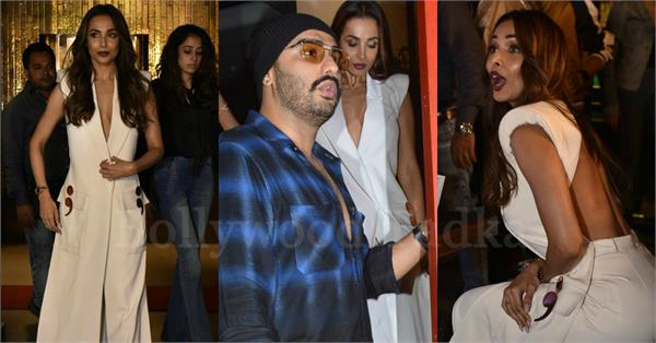 malaika arora arjun kapoor spotted together