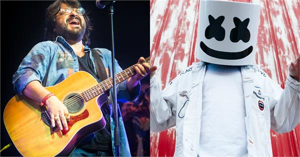 dj marshmello teases biba a collaboration with pritam
