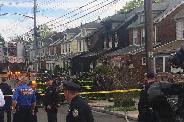 house fire kills 5 in new york