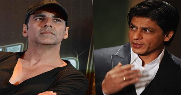 shahrukh khan dont wants to work with akshay kumar