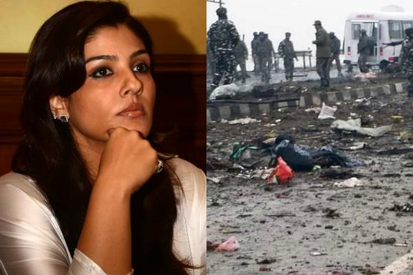 raveena tandon to take care of education of martyrs children
