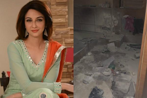 saumya tandon house catch fire