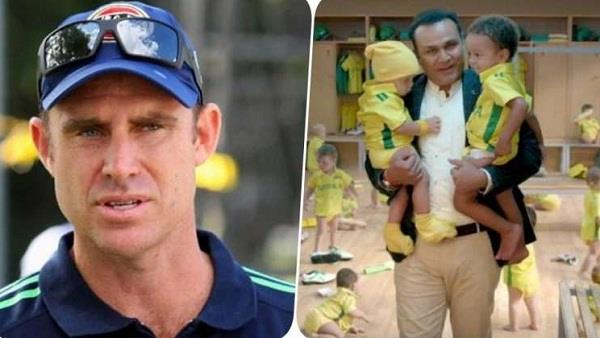 video hayden reply to sehwag says viru do not consider australian to child