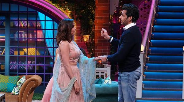 neeti mohan and nihar pandya at kapil sharma show