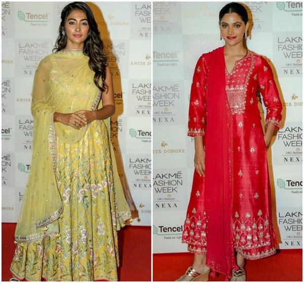 bollywood divas spotted at lakme fashion week 2019