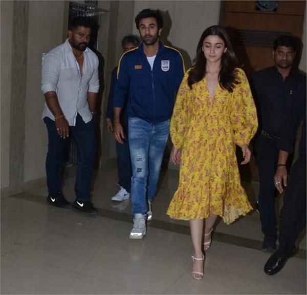 was ranbir really debating alia bhatt on film screening
