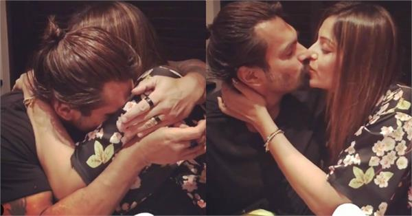 bipasha gets romantic with husband karan on valentine s day