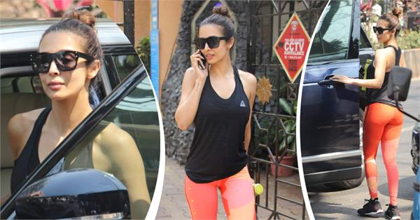 malaika arora spotted pictures