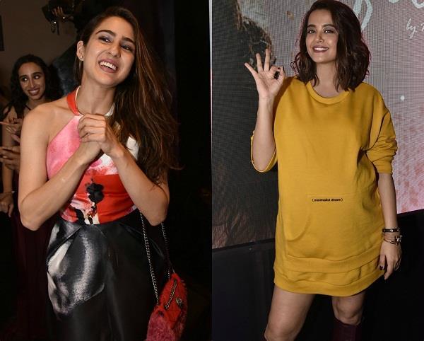 sara ali khan surveen chawla at namrata purohit song launch