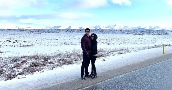 soundarya rajinikanth share honeymoon pictures