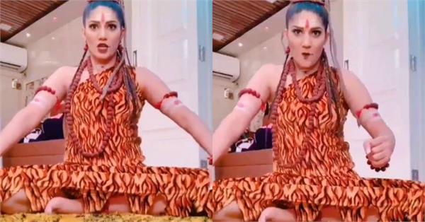 sapna choudhary tiktok video viral