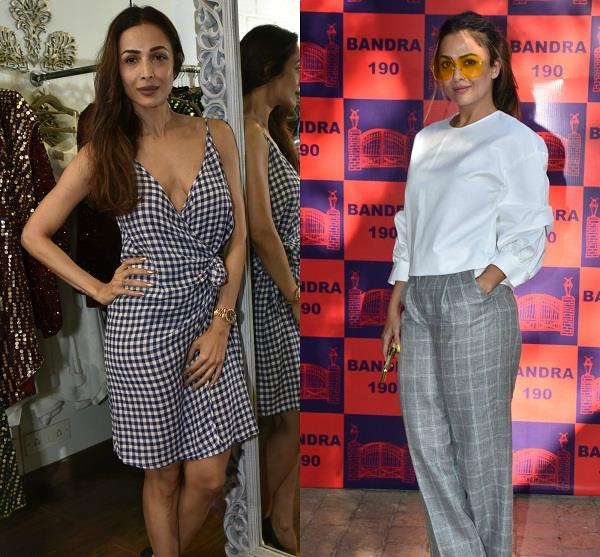 bollywood stars at lifestyle and fashion pop up exhibit