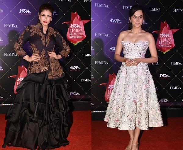 bollywood actress at beauty awards 2019