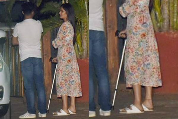 katrina kaif leg injury