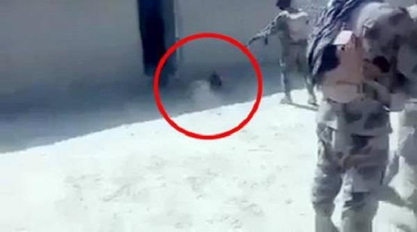 video of pakistani army s cruelty on baloch man goes viral
