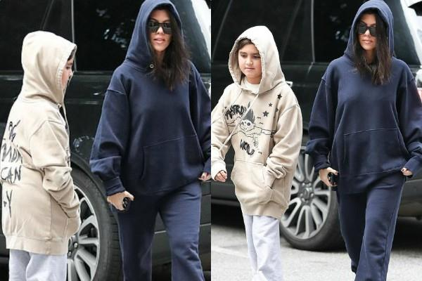 kourtney kardashian son mason cool look