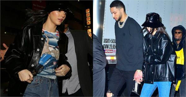 kendall jenner spotted with boyfriend ben simmons